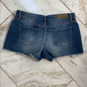 Calvin Klein Shorts - Calvin Klein Cut Off Jean Shorts